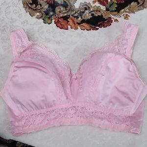 Rhonda shear pink bra size medium
